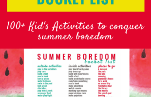 100+ Awesome Screen-Free Kid's Activities that will Conquer Boredom