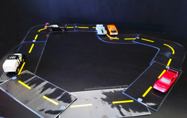 Printable Race Track Road DIY