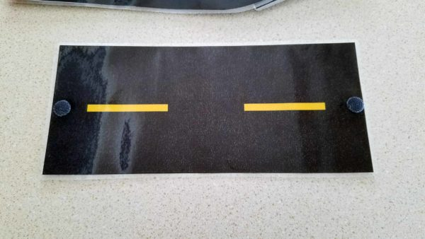 Printable Race Track Road Fronts Hooks