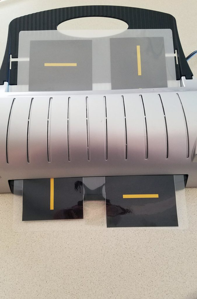 Printable Race Track Road Laminating