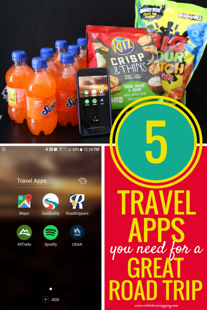Road trip treats & 5 travel apps for the best road trip ever!
