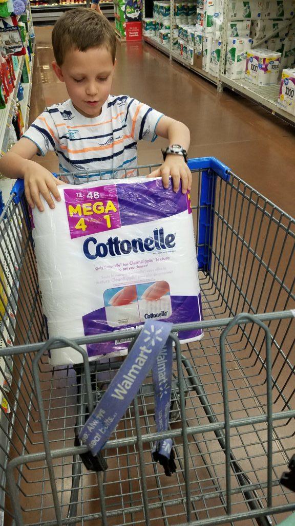 Cottonelle at Walmart