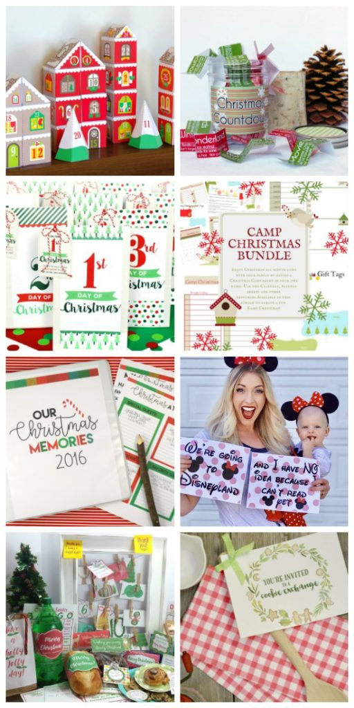 All Things Holiday Bundle has Christmas printables