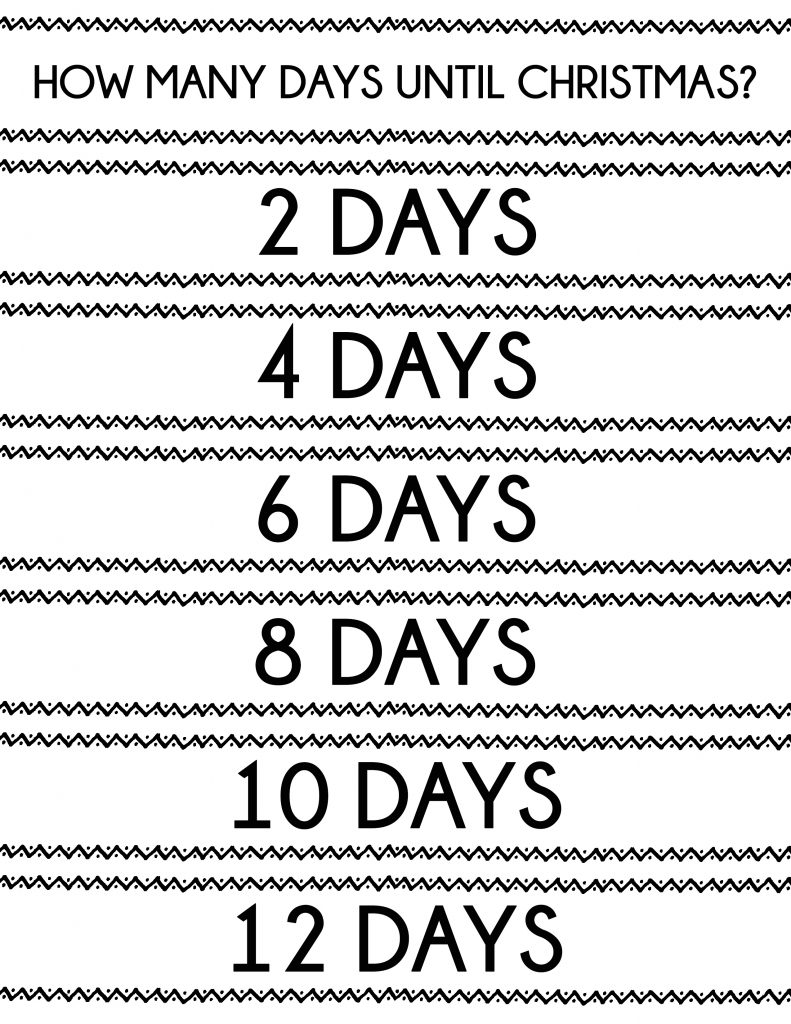 Simple Christmas Countdown Chain that will only take 20 minutes to make. A great visual of just how many more days until Christmas! And it's okay if you miss a day (or five)!