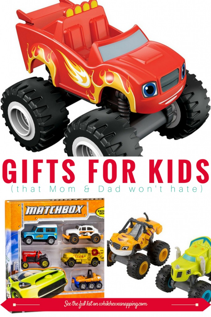 Toy Cars offer open-ended play and make great gifts for Kids that Mom & Dad won't hate