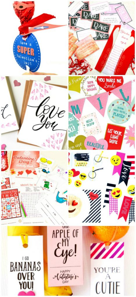 Spring Printables Blogger Bundle Valentine's Day