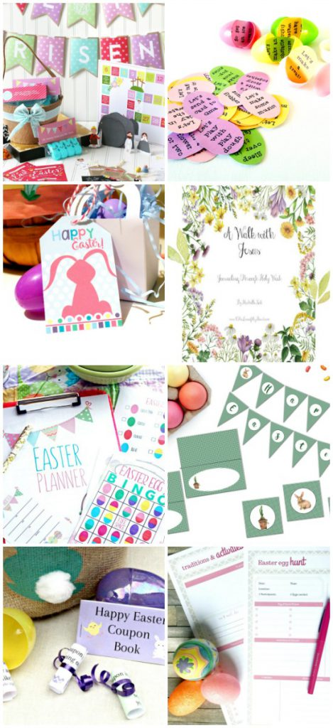 Spring Printables Blogger Bundle Easter