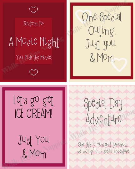 Kids' Valentine Coupons