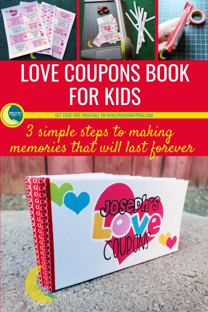 DIY Kids Love Coupons Book Gift