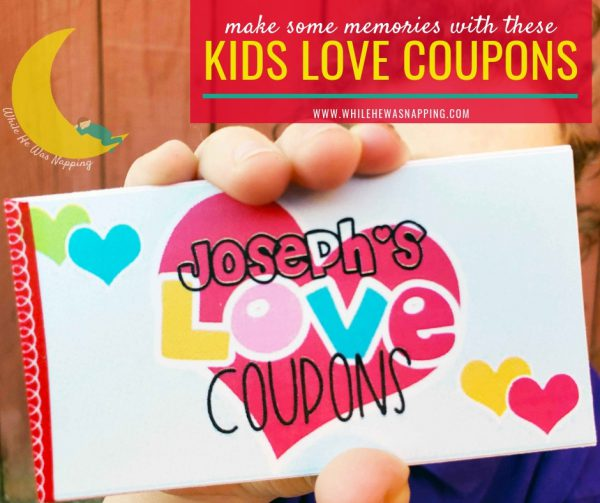 DIY Kids Love Coupons Gift