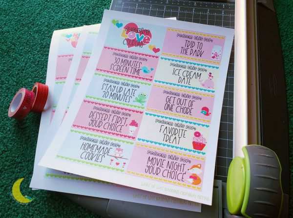 Kids DIY Love Coupons