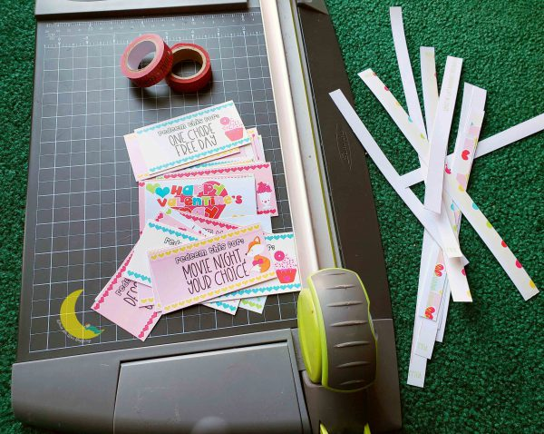 Kids Valentine Love Coupons DIY Gift